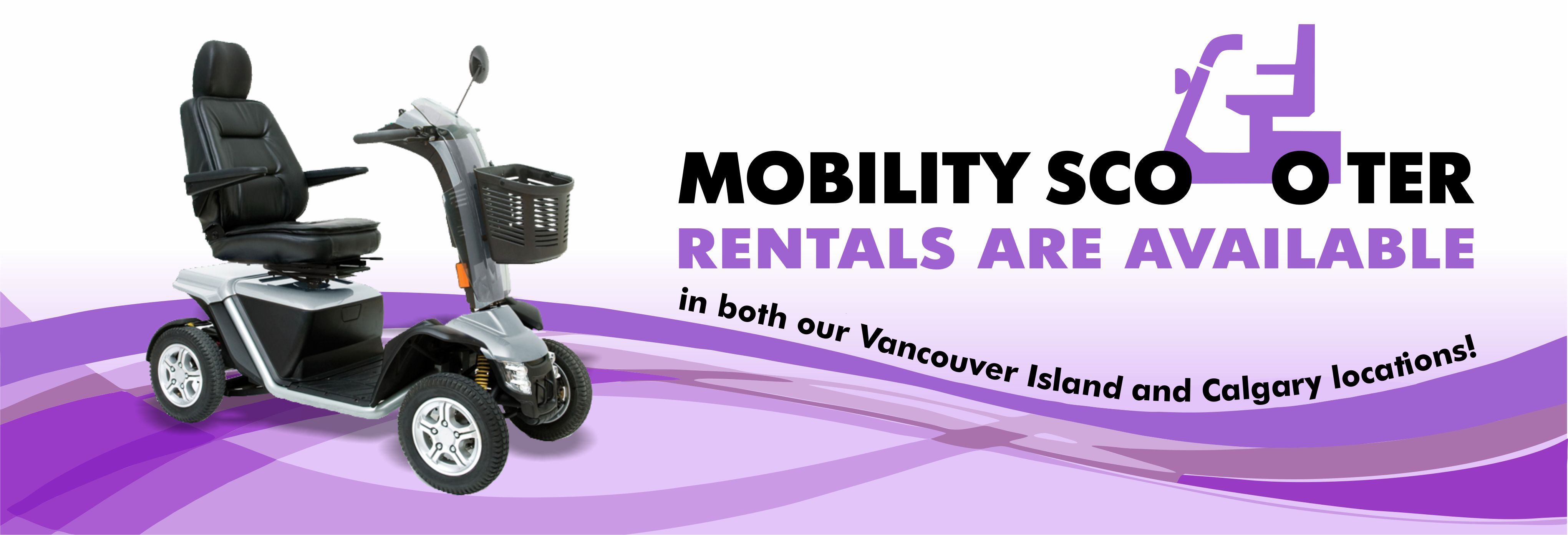 Mobility Scooter Rentals Sidney BC | Knee Scooter | Sidney
